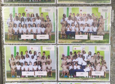 EXPOSITION ET VENTE DES PHOTOS DE CLASSE ET DES PORTRAITS INDIVIDUELS